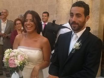Noelia y Roberto ya son marido y mujer