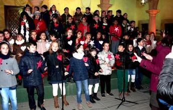 El grupo La Troya abrió con su pregón la Navidad en la localidad de Villarrobledo