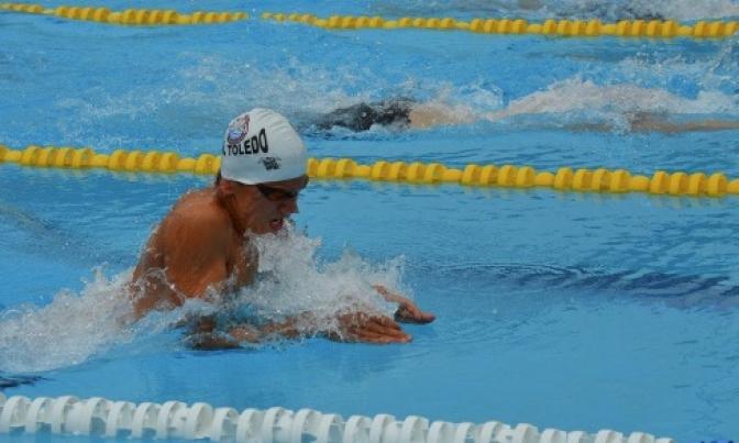 El nadador Jorge Moraleda, medalla de bronce en 100 braza en Barcelona