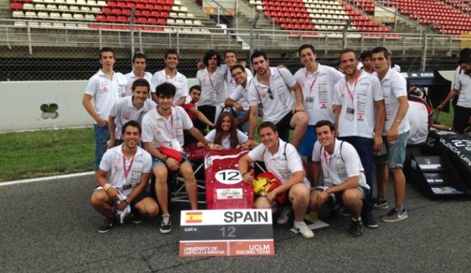 La Escuela de Industriales expondrá este sábado en la Plaza Mayor de Ciudad Real su monoplaza de la Formula Student