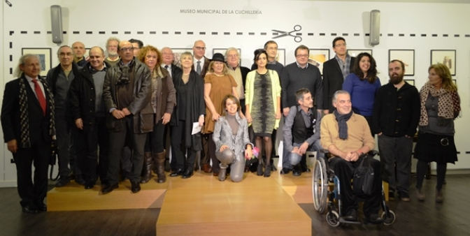 Abierta en Albacete la exposición Arte Cisoria