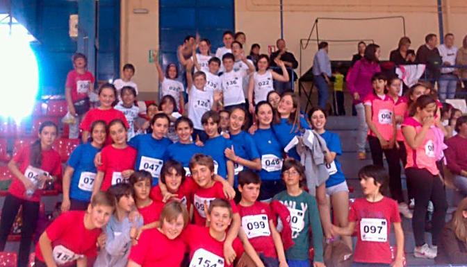 Gran actuación de los colegios de Villarrobledo en la Fase Regional del Torneo 'Jugando al Atletismo'
