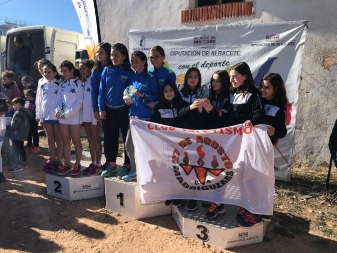 Alborea pone fin a la última fase del campeonato provincial de campo a través del deporte en edad escolar