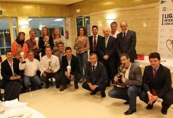 El Tiro de Pichón acogió la entrega de premios de la I Liga Interclubes