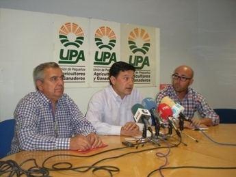 """UPA CLM: """"Mientras los presidentes de Valencia y Murcia están con sus regantes, los de C-LM estamos solos"""""""