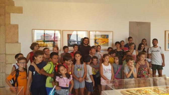Abierta la exposición Curvismo de Eduardo Roncero en el Museo de Obra Gráfica de San Clemente