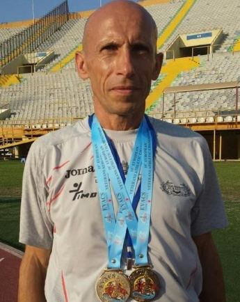 José Perona obtuvo la Medalla de oro en el Campeonato de Europa de Maratón en la categoría más de 50 años