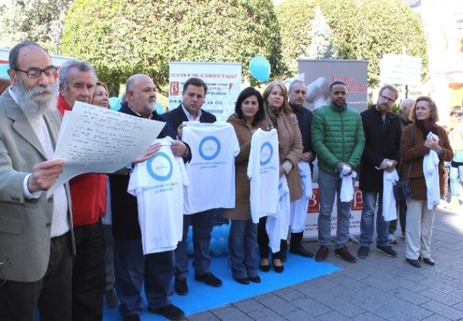 Asfadi conmemora en Albacete, en la Plaza del Altozano, el Día Mundial de la Diabetes