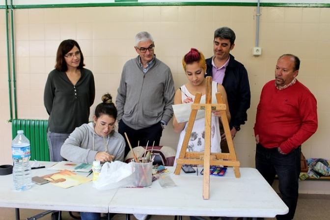 El colegio Antonio Manchado de Albacete celebra el I Concurso de Pintura Rápida