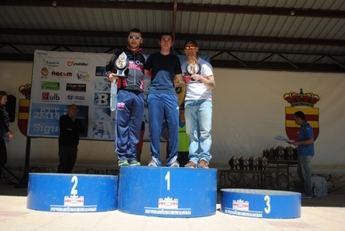 José Antonio Sarriá y Nieves Giménez ganaron la carrera de Tobarra del Circuito de BTT