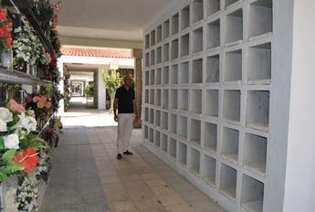 Finalizadas las obras de los nuevos columbarios del cementerio municipal de Albacete