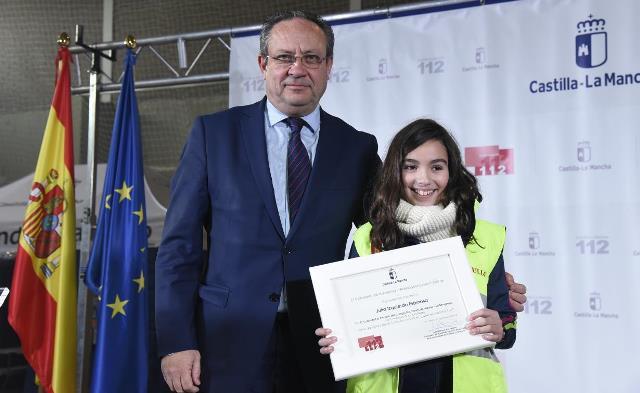 900 trabajos presentados al VII concurso de dibujo escolar del 112 de Castilla-La Mancha