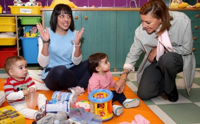 La Junta ha destinado ayudas por más de 3 millones de euros a 244 escuelas infantiles de la región