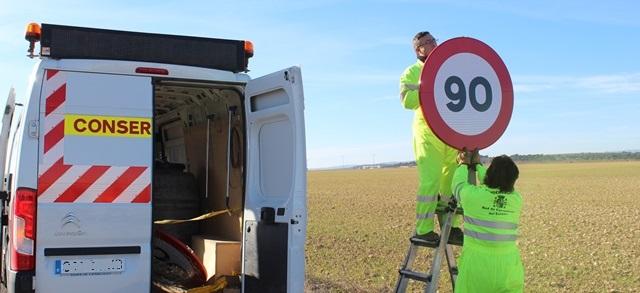 'Frenazo' a 90 en las carreteras convencionales
