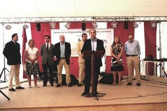 El alcalde de Villarrobledo pide unidad para generar empleo y riqueza, delante de los empresarios de la localidad