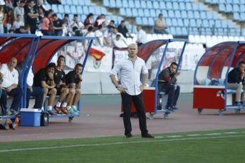 Luis César Sampedro, muy feliz con haber logrado el título de campeones
