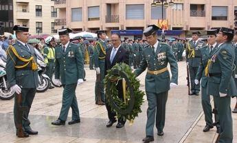 La Guardia Civil es protagonista en Albacete en el día de su Patrona