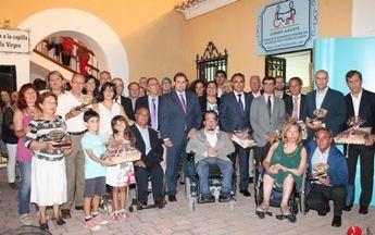 Entrega de los XVII Premios de Integración Social de AMIAB en la Feria de Albacete