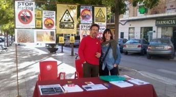 Plataformas contra el fracking estarán presentes en la Feria del Comercio de Fuente Álamo