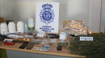 Cinco detenidos y tres puntos de venta de droga desmantelados en Albacete