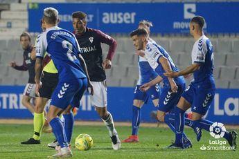 El Albacete salió con vida de Sabadell tras fallar un penalti los locales en el minuto 90