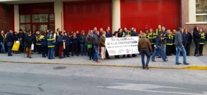 Los trabajadores de correos en Albacete continúan con sus paros