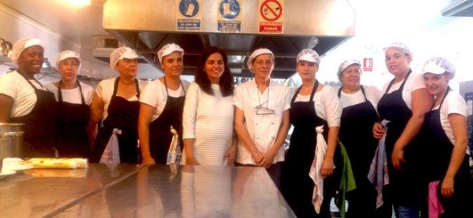 16 mujeres se forman en operaciones básicas de cocina en un curso en Villarrobledo