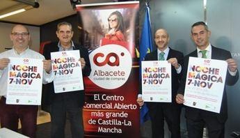 El comercio de Albacete se prepara para la 'Noche Mágica' del día 7 de noviembre, con descuentos y sorpresas