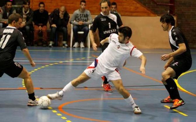 Contundente derrota del Albacete F.S. en la cancha de La Solana (7-2)