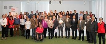 Acto de reconocimiento a las empresas colaboradoras en el Plan de Empleo de Cruz Roja Española