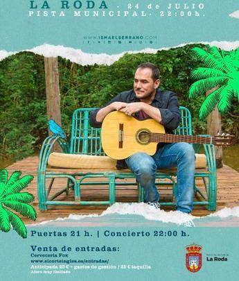 El Ayuntamiento de La Roda pone a la venta las entradas de los conciertos de Marwan e Ismael Serrano