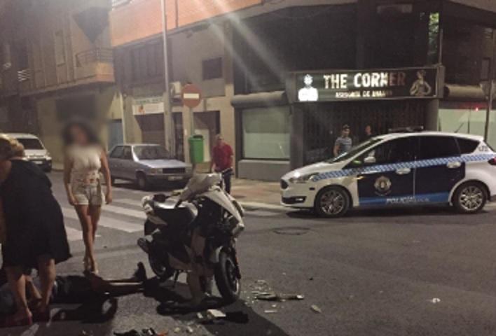 Accidente con daños materiales importantes en la noche del viernes en Albacete, varios vehículos implicados