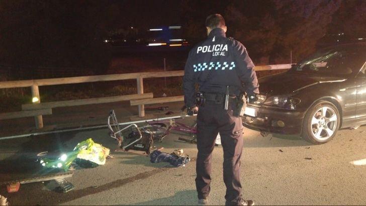 Un ciclista herido grave en Albacete al ser atropellado por un coche en la carretera del cementerio