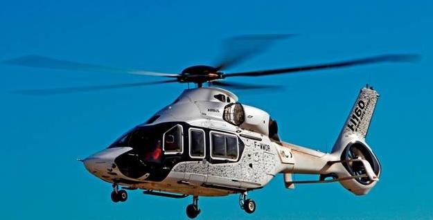 Airbus Helicopters de Albacete recibe al H160 en su primera visita a España