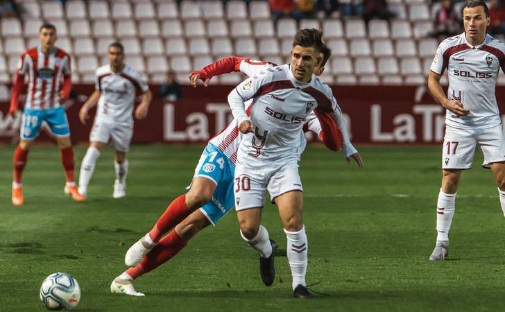 Tropezón del Albacete Balompié en el Carlos Belmonte ante un Lugo mucho más efectivo (0-1)