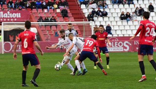 El Albacete Balompié empató con el Osasuna (0-0) en un partido marcado por la injusta expulsión de Saveljich