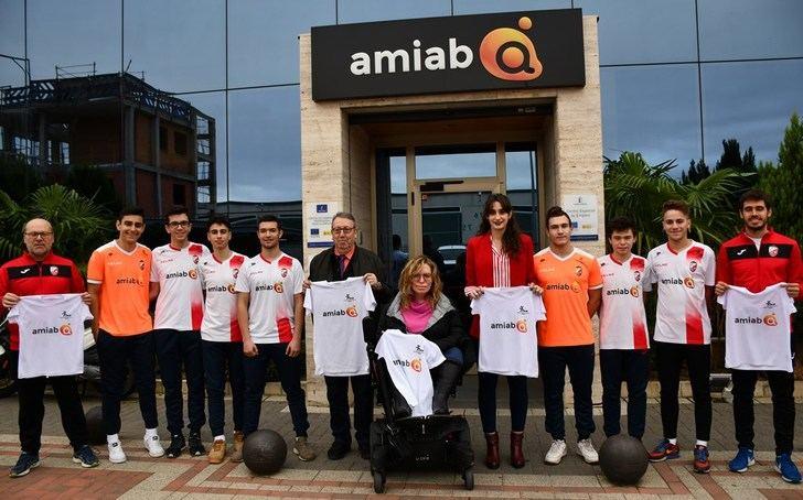 Amiab firma un convenio de colaboración y patrocinio con el Albacete Fútbol Sala