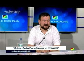 El alcalde de La Roda afirma que las fiestas patronales serán seguras y con aforos limitados