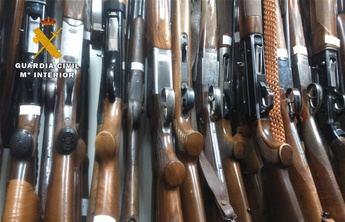 La Guardia Civil pone en marcha un nuevo sistema de cita previa en las intervenciones de armas de Castilla-La Mancha