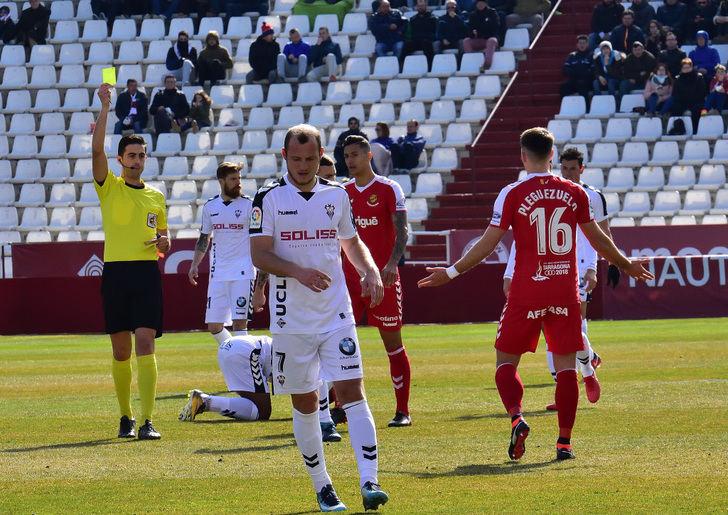 La baja de Zozulia merma claramente el ataque del Albacete Balompié