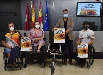 El atleta Rafa Botello intentará batir el récord de la hora en silla de ruedas en Albacete