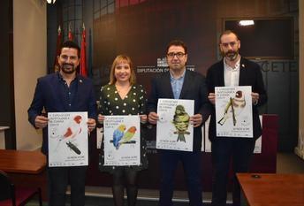 La Diputación acoge la V exposición ornitológica de España COM-E con más de 1800 especies