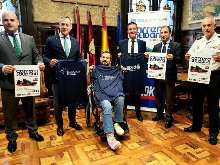Albacete se suma a la VII carrera solidaria a beneficio de Cruz Roja y Asprona