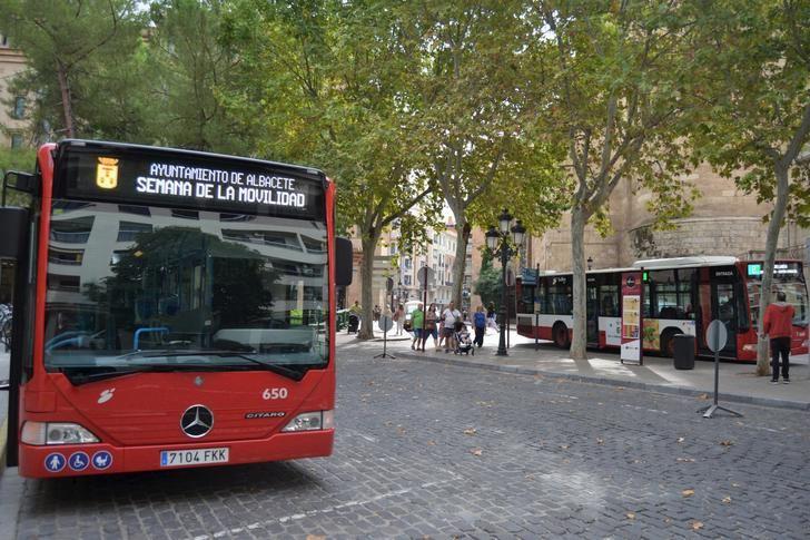 Albacete cierra el mes de enero con un aumento del uso del autobús urbano