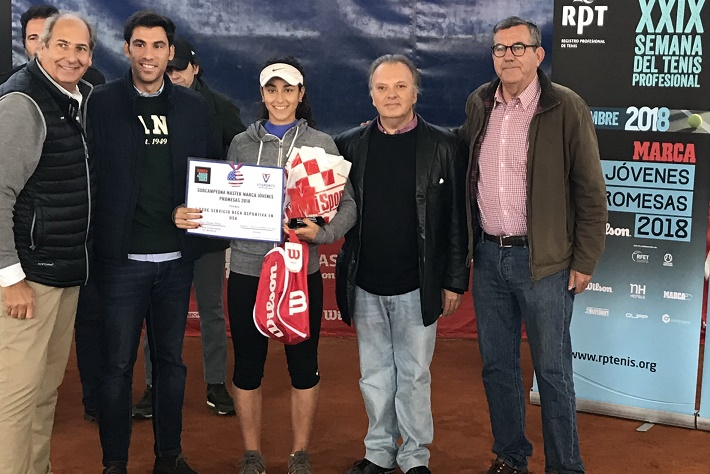 La rodense Blanca Cortijo subcampeona del Masters Circuito Marca