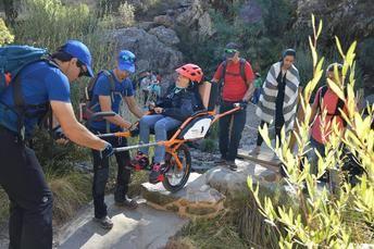 ORETANIA Ciudad Real organiza la primera ruta de senderismo adaptada en Cabañeros