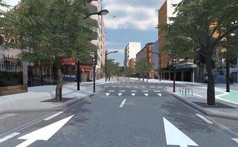 Imagen del proyecto de reforma de la calle Arquitecto Vandelvira.