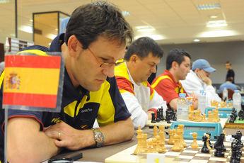 Ocho ajedrecistas invidentes participarán en el XIII Open Internacional de Ajedrez de Almansa