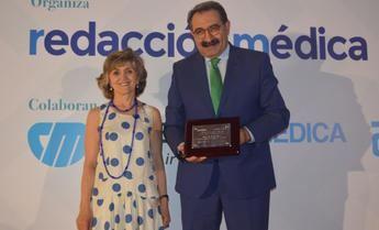 Fernández Sanz, reconocido como mejor consejero de Sanidad del sistema sanitario público por Sanitaria 2000