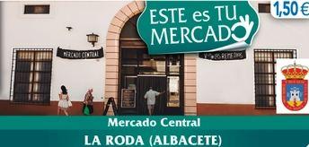 El mercado central de La Roda protagonizará el miércoles el cupón de la ONCE